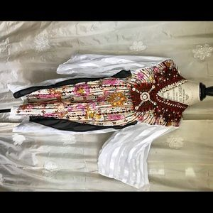Tops - Traditional Egyptian Berber beadwork wedding tunic